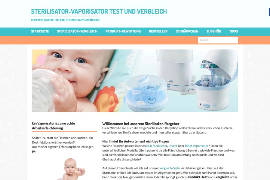 Sterilisator test